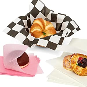 food liners and wrappers