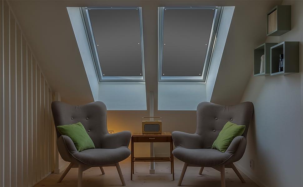 velux roto dachfenster hitzeschutz sichtschutz sonnenschutz thermostoff verdunklung backout