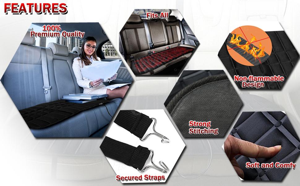 heated rear seat cushion