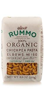 Organic Lentil Vegan Chickpea Pasta Elbows