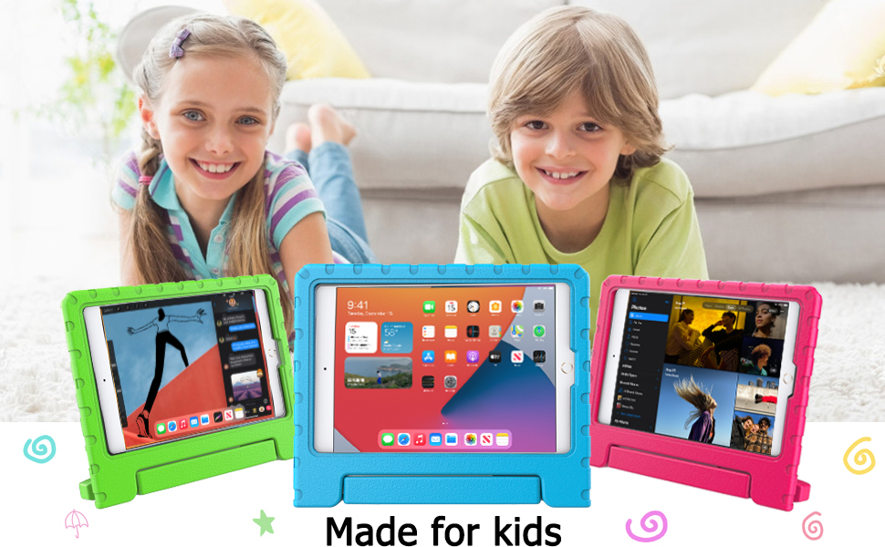New iPad 10.2 2020 8th generation Handle kids case