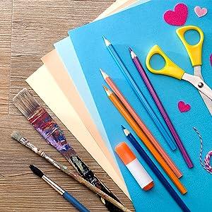 umschläge c6 zum basteln kreativ deko malen zeichnen DIY kinder kindergeburstag perlen verzieren