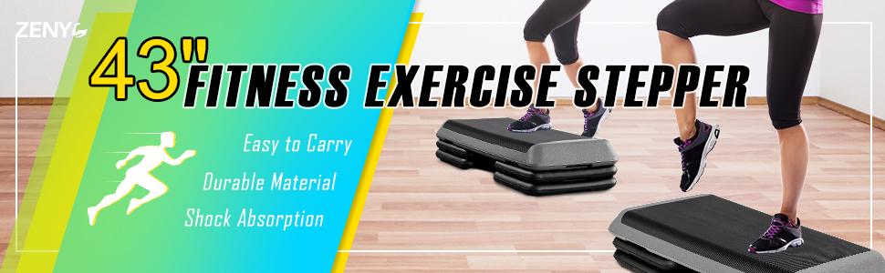 Adjustable Aerobic Step Platform