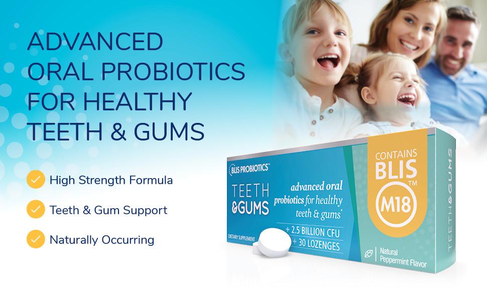 Blis Teeth and Gums oral probiotics