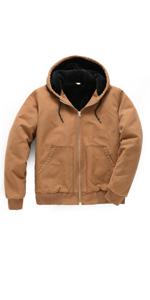 mens thicken duck work jacket