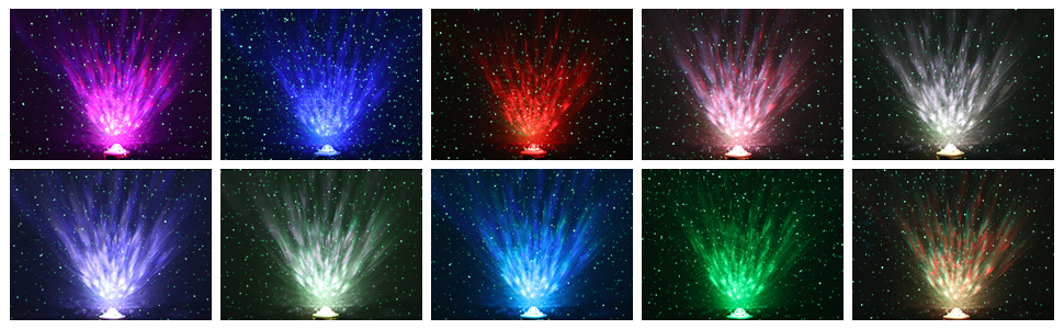 10 Colour Projections