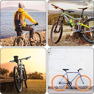 Bike Lock, Diyife Heavy Duty Chain Lock,4-Digit Resettabl... Reinforce Version