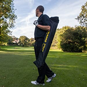 golf net with carry bag