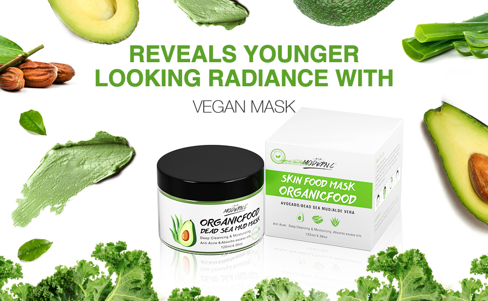 Avocado Dead Sea Mud Mask
