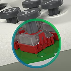 mechanical switch in gamepad