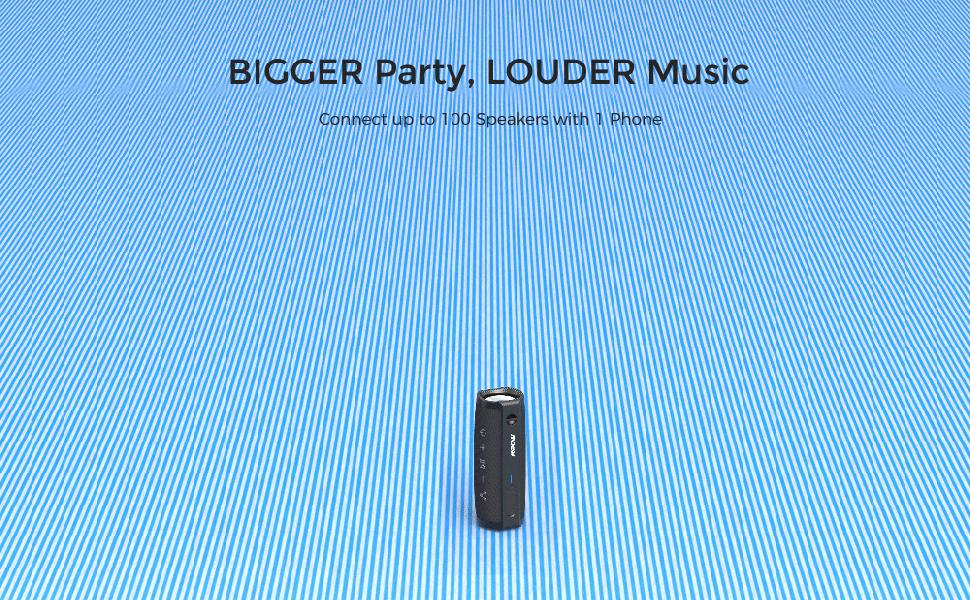 Bluetooth Speaker with tws Waterproof Speaker Portable Speaker outdoor Waterproof Wireless Speaker