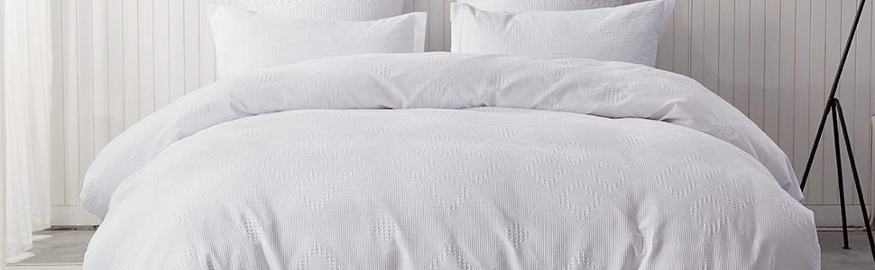 waffle texture  bedding set