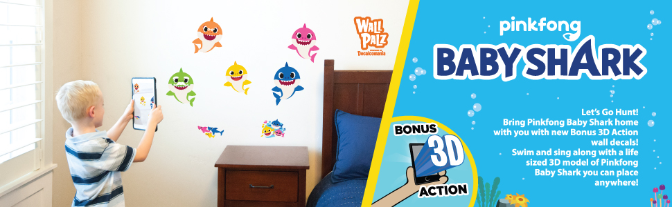 Details about  /3D Baby swim 679 Wall Stickers Vinyl Murals Wall Print Decal Art AJ STORE AU