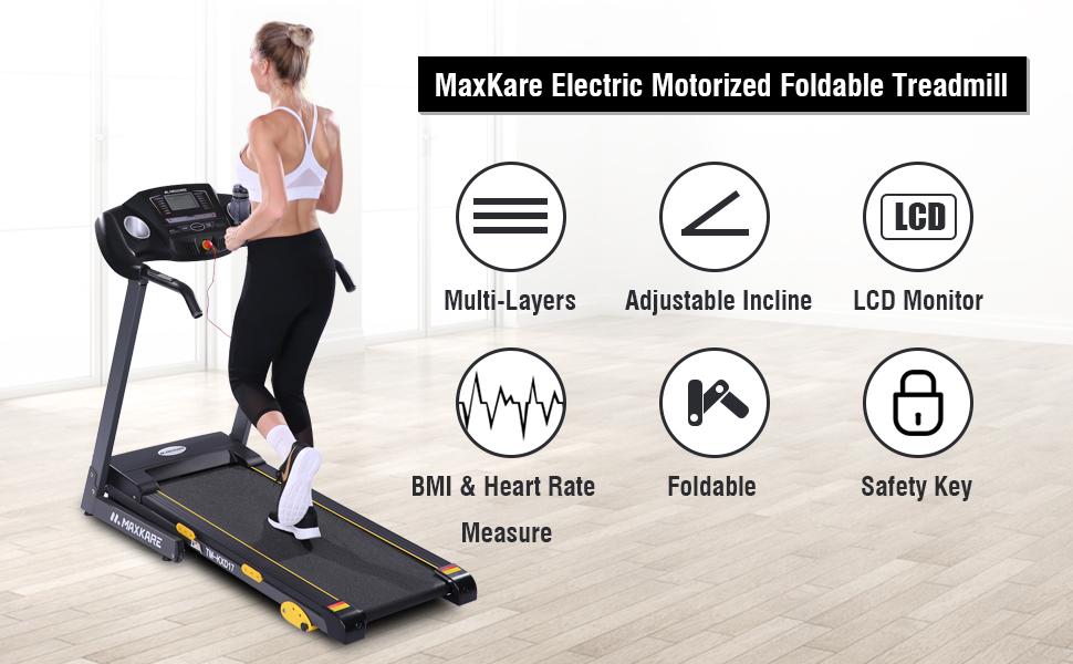 Ravent 1.5 HP Folding Electric Treadmill Tool kit