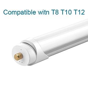 8ft led tube light led shop light 8ft