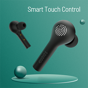 dudios smart control wireless headphones