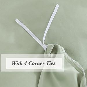 With 4 Corner Ties