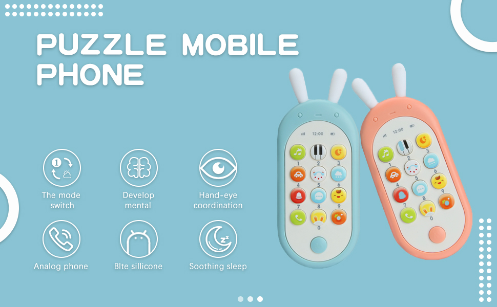 electronic toy phone for 1 year old