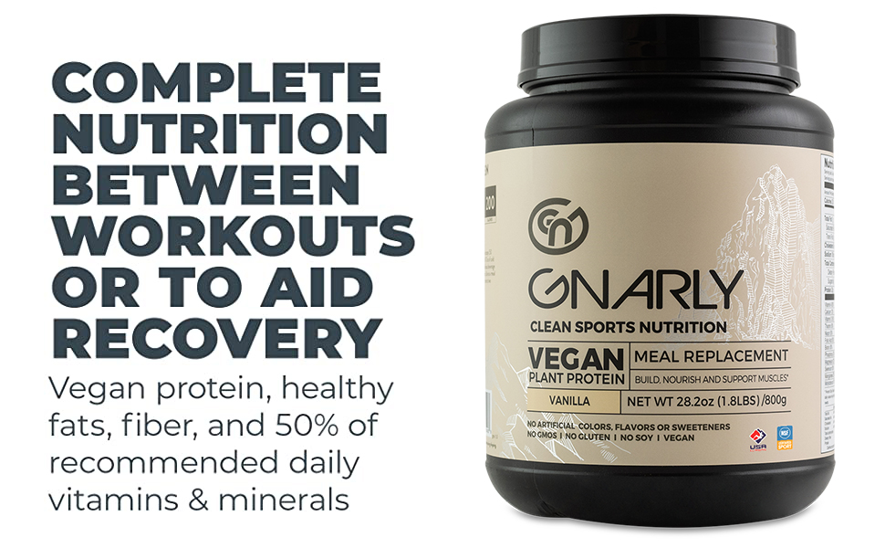 Complete nutrition between workouts or to aid recovery