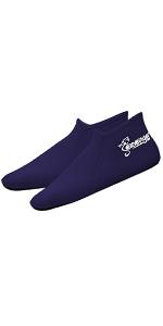 seavenger neoprene socks 3mm navy grip sole