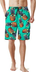 men hawaiian trunks