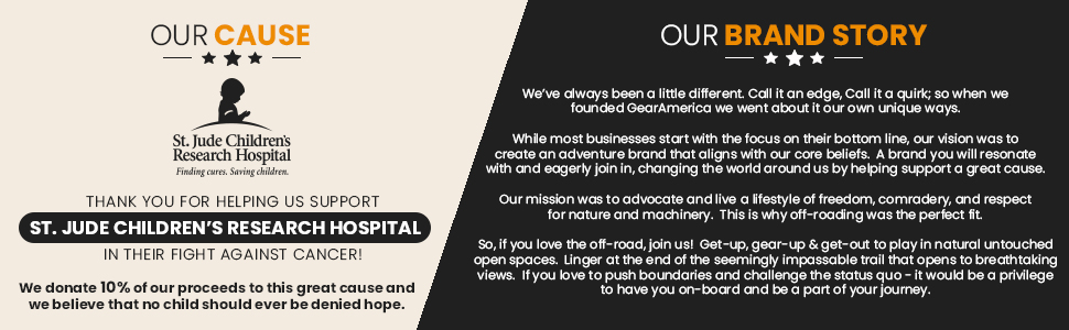 Gear America, Our Cause, Our Brand Story