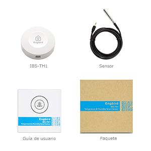 IBS-TH1 Registrador de temperatura y humedad