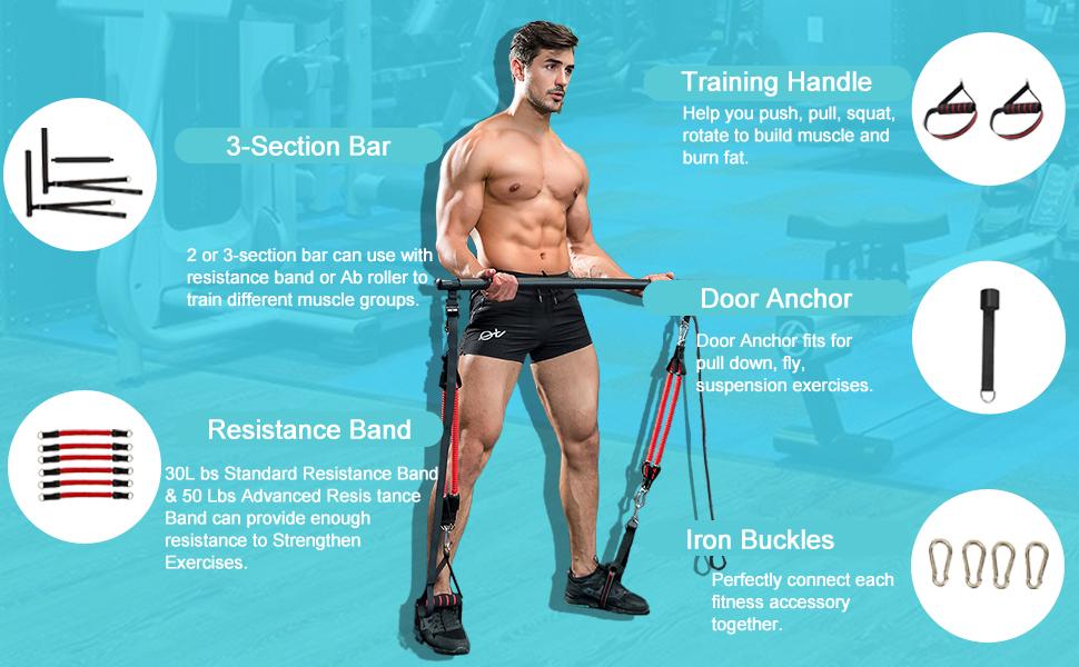 Pilates Bar Set