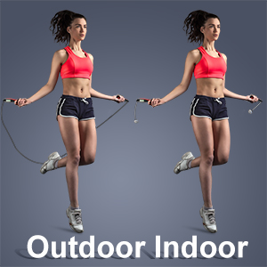 Jump rope with counter