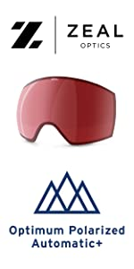 photochromic goggle replacement lens