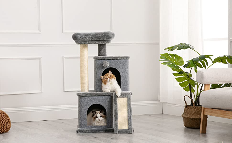 cat tower for indoor cats