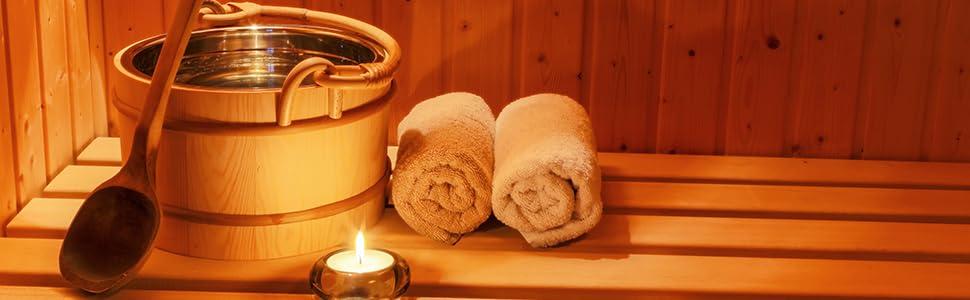 Saunaaufguss, Sauna, Zubehör, Entspannung, Winter, Menthol, Eiskristalle