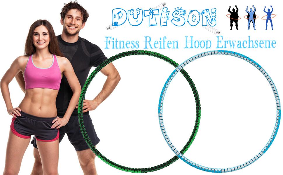 Fitness hoepel voor volwassenen.