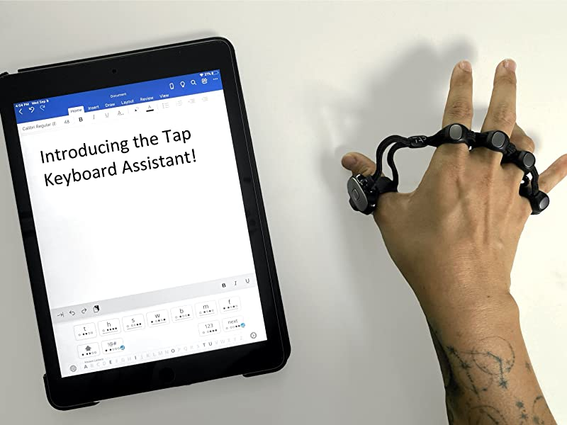 Tap Keyboard Assistant