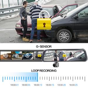 G-Sensor & Loop Recording