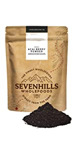 sevenhills wholefoods acai polvo organico