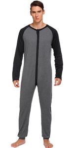 mens thermal union suit