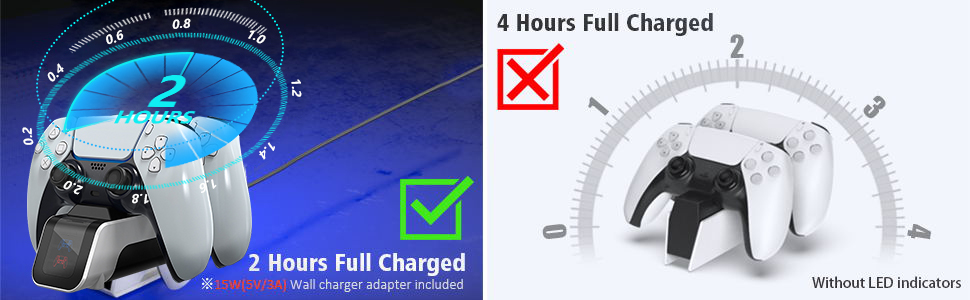 Dual Controllers Fast Charger