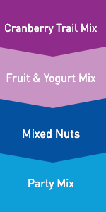 Natural, Dried Fruit, Yogurt, Delicious, Lunch, Peanut, Cashew, Almond, Cranberries, Candy Pieces