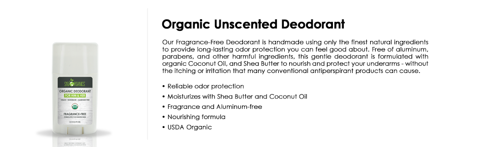 organic deodorant, deo, natural deodorant, unscented, butter deo, bio, for her&him, unisex