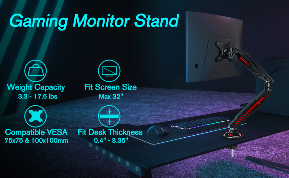 gaming monitor stand