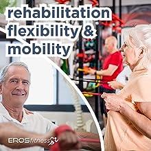 rehabilitation flexibility band resistance mobility rehab physio physical stretch hospital home