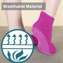 breathable comfortable yoga socks pilates workout gym men women ballet barre trampoline martial arts