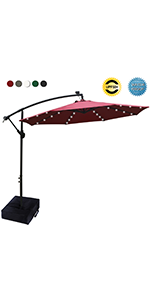 LED Haning Umbrella