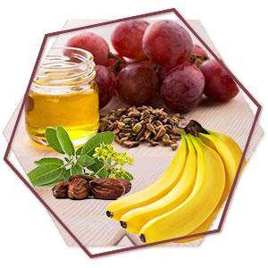 Banana, Grape seed & Jojoba Oil