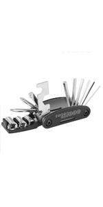 16 in 1 multi toolkit, multi tool, fiets tool, fiets gereedschap set, fiets gereedschap