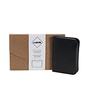 Details about  /Leather Business Card Holder Present Idea High Quality Handmade