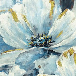 wild flower canvas wall art