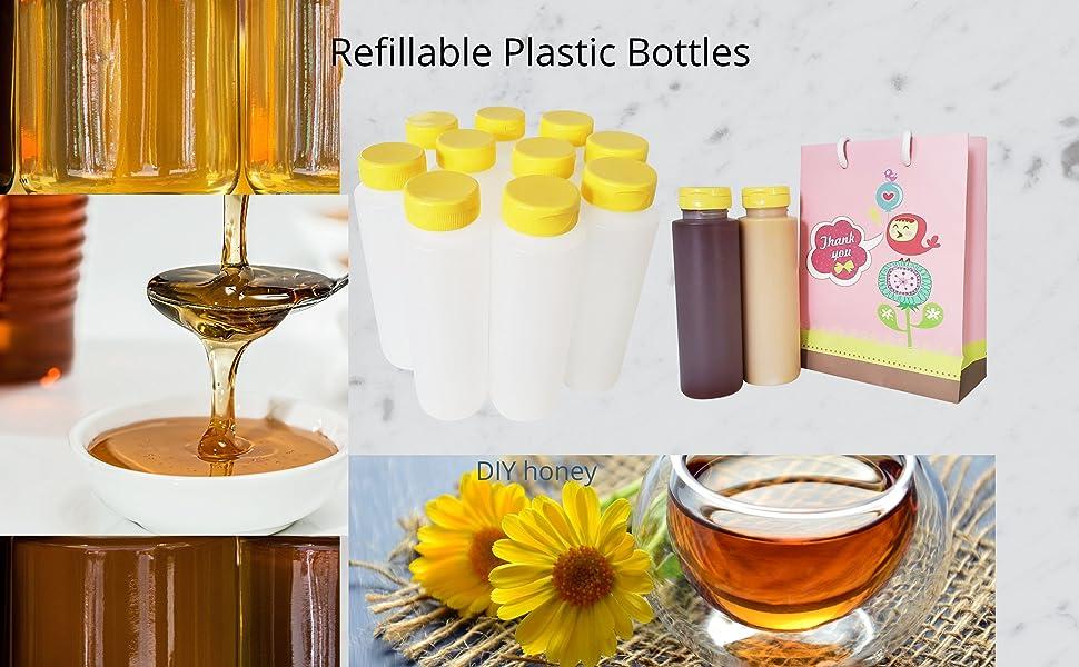 Refillable Plastic bottles