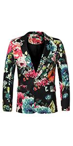 Prom Floral Lightweight Blazer